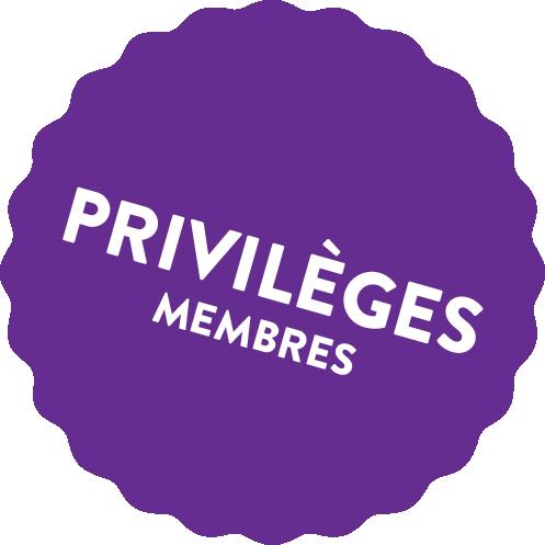 Privilèges des membres