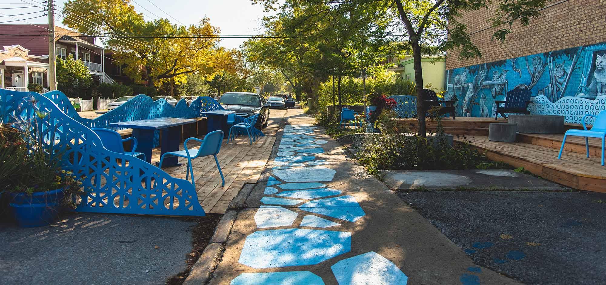 Les Balcons Bleus de Tétreaultville Automne 2021